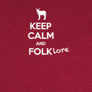 Camisetas Keep calm and Folklore 1