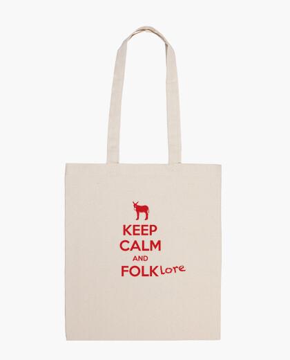 Keep calm and Folklore bolsa 2