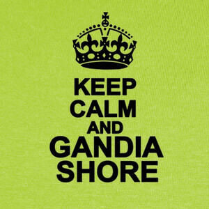 Camisetas Keep Calm and Gandia Shore