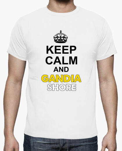 Camiseta Keep Calm and Gandia Shore - Chico