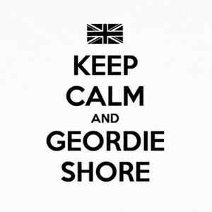 Camisetas Keep Calm and Geordie Shore