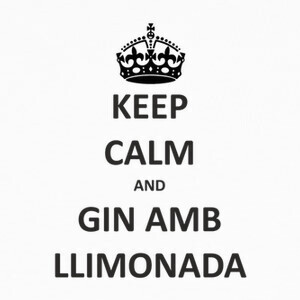 Camisetas Keep Calm and gin amb llimonada