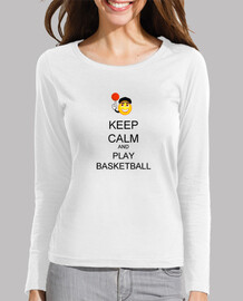 keep calm and giocare a basket