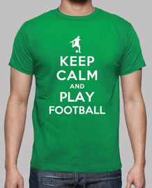keep calm and giocare a calcio