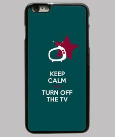 keep calm and girare off la tv