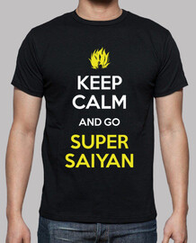 keep calm and go super saiyan
