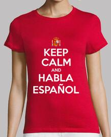 Keep Calm and Habla Español (foncé)
