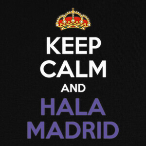 Tee-shirts Keep Calm and Hala Madrid