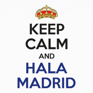 Keep Calm and Hala Madrid T-shirts