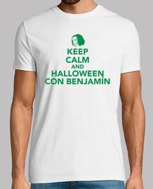 Keep Calm and Halloween con Benjamín