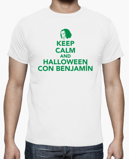 Keep calm and halloween with baby t-shirt