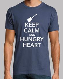 KEEP CALM AND HUNGRY HEART