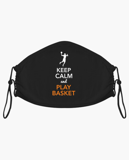 Keep calm and joue au masque de panier