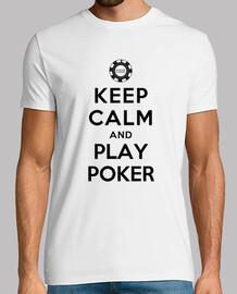 keep calm and jouer au poker