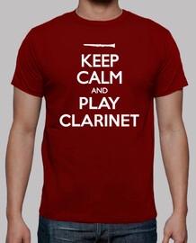 keep calm and la clarinette