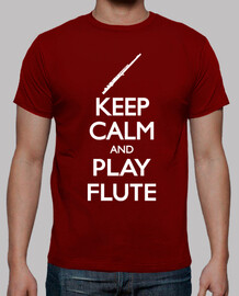 keep calm and la flûte