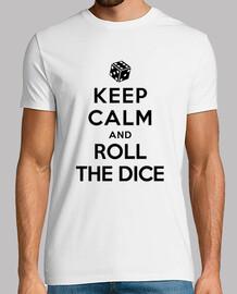 keep calm and lancer les dés