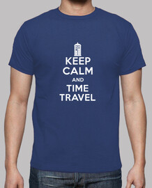 keep calm and le temps voyage