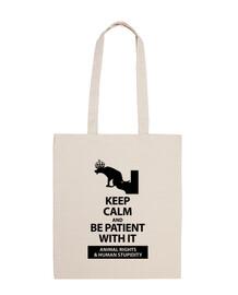 keep calm and les droits des animaux