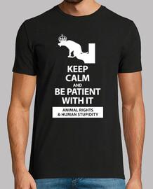 keep calm and les droits des animaux sur le noir