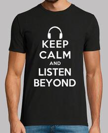 Keep calm and listen Beyond Man