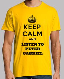 Keep Calm and Listen to Peter Gabriel