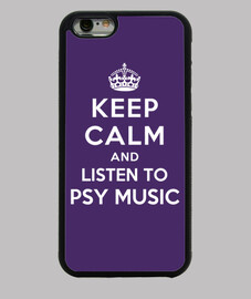 Keep Calm and listen to Psy Music