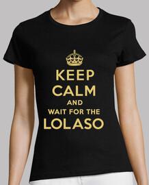 KEEP CALM AND LOLASO chica