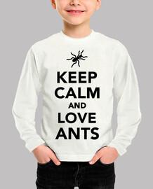 Keep calm and love ants