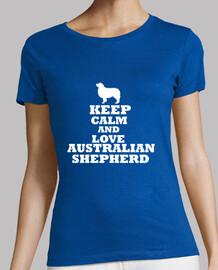 Keep calm and love australian shepherd