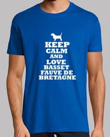 Keep calm and love basset fauve de bretagne