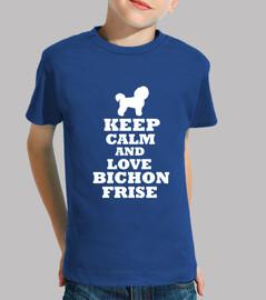 Keep calm and love bichon frise
