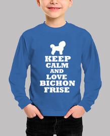keep calm and love bichon frize