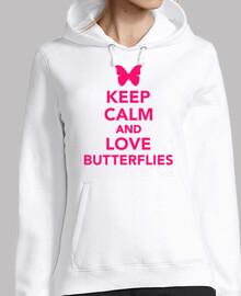 Keep calm and love butterflies
