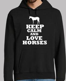 Keep calm and love horses