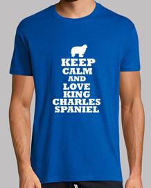 Keep calm and love king charles spaniel