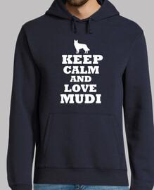 Keep calm and love mudi
