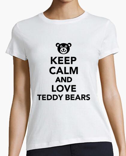 Tee-shirt Keep Calm and Love Teddy Bears
