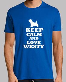 Keep calm and love westy
