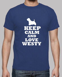 keep calm and love westy