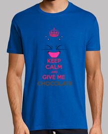 keep calm and mi danno cioccolato