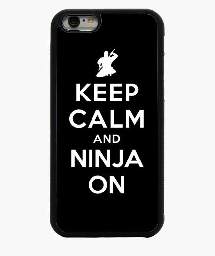 Keep Calm and Ninja On iphone 6 / 6s case