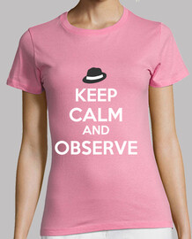 Keep Calm and Observe -  Mujer