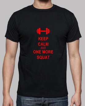 Keep Calm and One More Squat Rouge