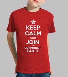 keep calm and partecipare alla comunista party