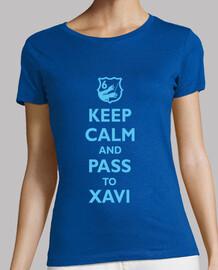 Keep calm and pass to xavi