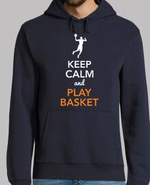 Keep Calm and Play Basket