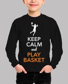 keep calm and play basketball (child)
