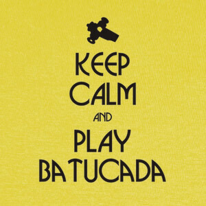 Camisetas Keep calm and play batucada