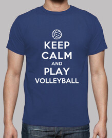 Keep Calm and Play Beach Volley